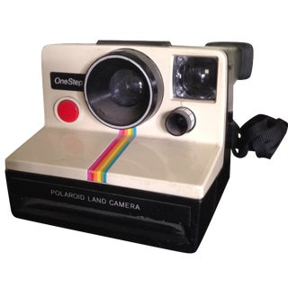 Vintage Polaroid One Step Land Camera