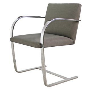 Mies Van Der Rohe Gray Brno Flat Bar Chair - 8 Av.