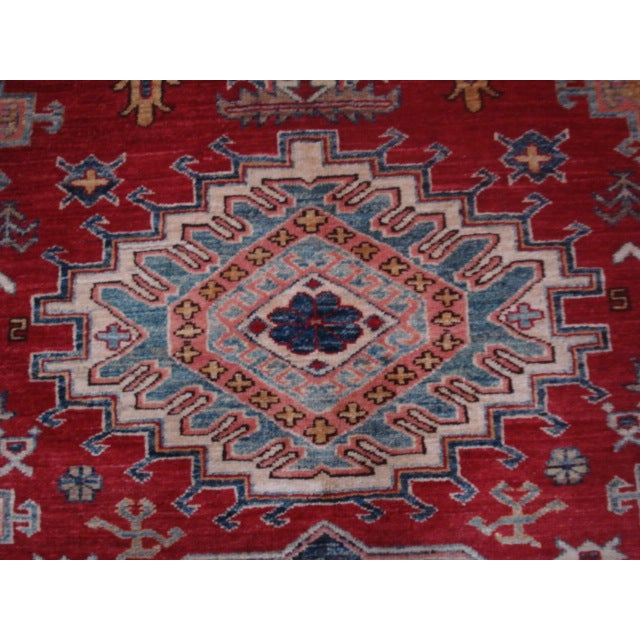 """Hand Woven Naturally Dyed Rug - 5'10"""" x 8' - Image 4 of 4"""
