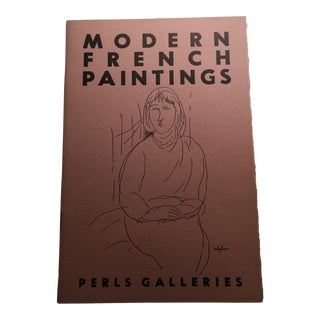 """Perls Galleries """"Modern French Paintings"""" 1956 Book"""