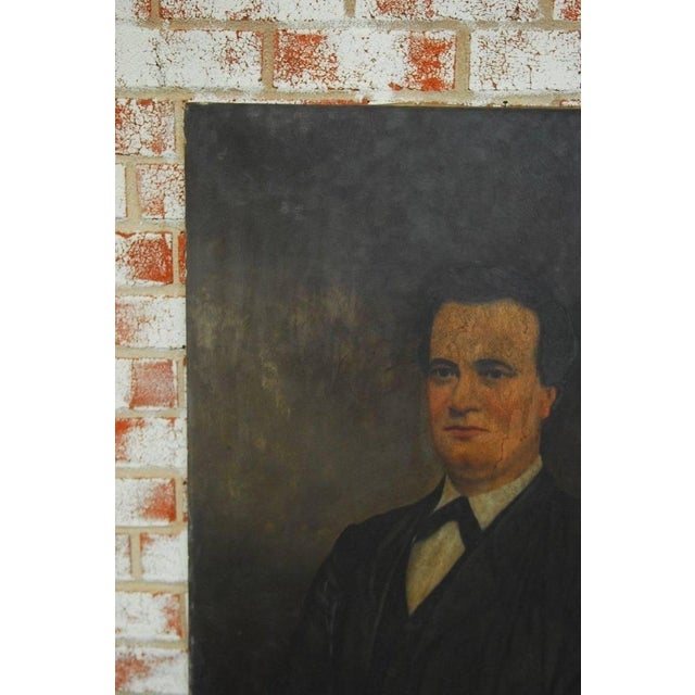 19th Century English Portrait of a Gentleman Oil on Canvas - Image 6 of 10