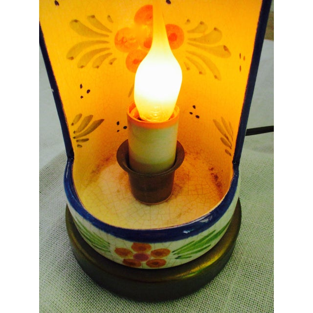 Image of Boho Glam Ceramic Antique Candle Light