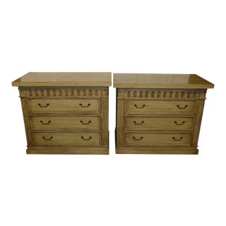 3-Drawer Bedside Chest - A Pair