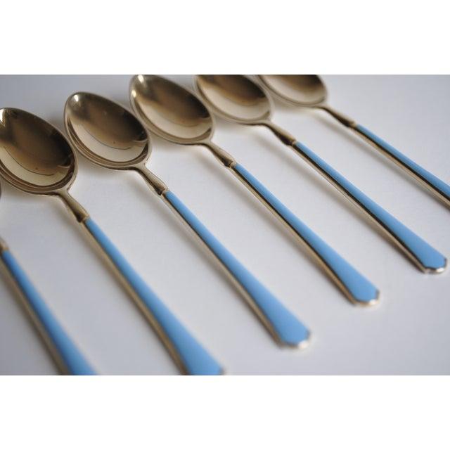 Sterling Demitasse Spoons - Set of 6 - Image 4 of 9