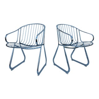 Gastone Rinaldi Italian Accent Dining Chairs - A Pair