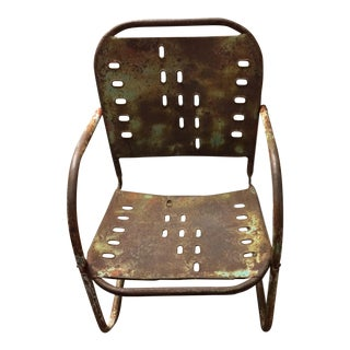 Mid-Century Modern Industrial Loft Style Chair