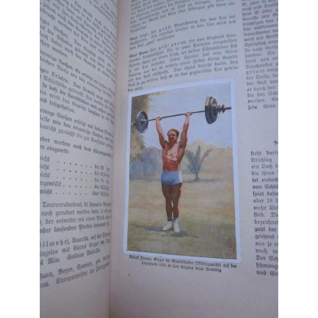 Image of 1932 Book Handbuch des Sports German