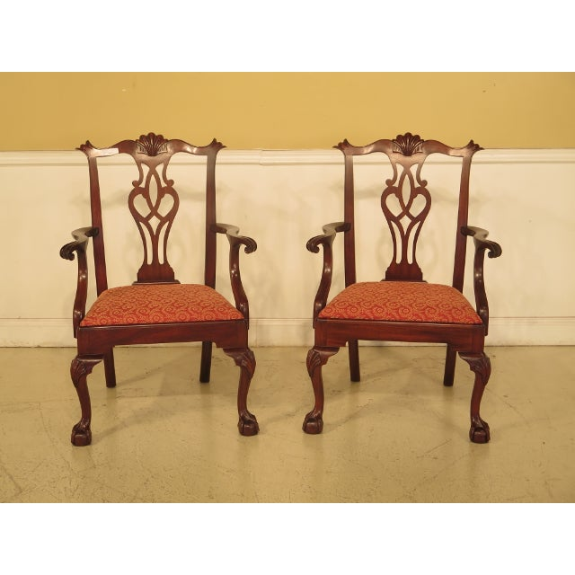 43475e Henkel Harris #112 Ball & Claw Mahogany Dining Room Chairs ...