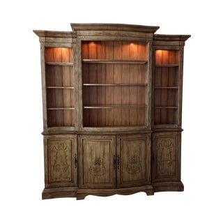 """Seven Seas"" by Hooker Entertainment Wall Unit"