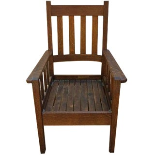 Stickley Mission Style Chair