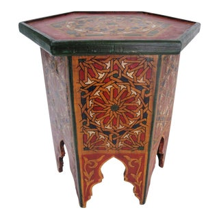 Vintage Moroccan Table