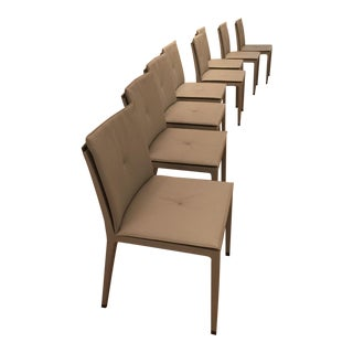 Contemporary Poltrona Frau Fitzgerald Chairs - Set of 8