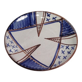 Small ceramic plate with drawing by Maria Laach