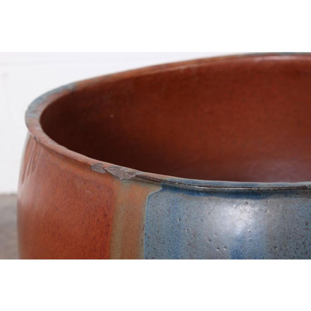 David Cressey Flame Glazed Planter for Architectural Pottery - Image 8 of 10