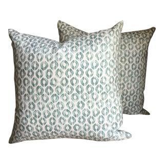 Kravet Thom Filicia Fabric Pillows- A Pair