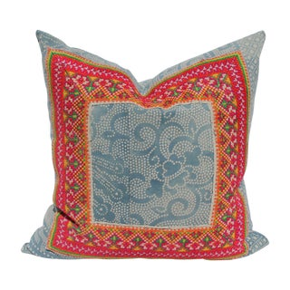 Hill Tribe Batik Pillow