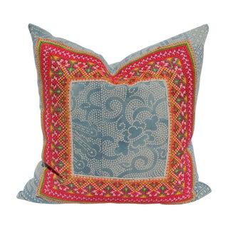 Hill Tribe Batik Pillow