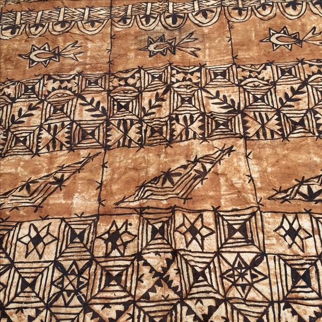 Tapa Cloth Wall Hanging - Image 6 of 10