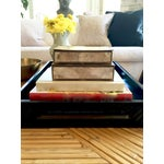 Image of Vintage Capiz and Brass Boxes - Pair