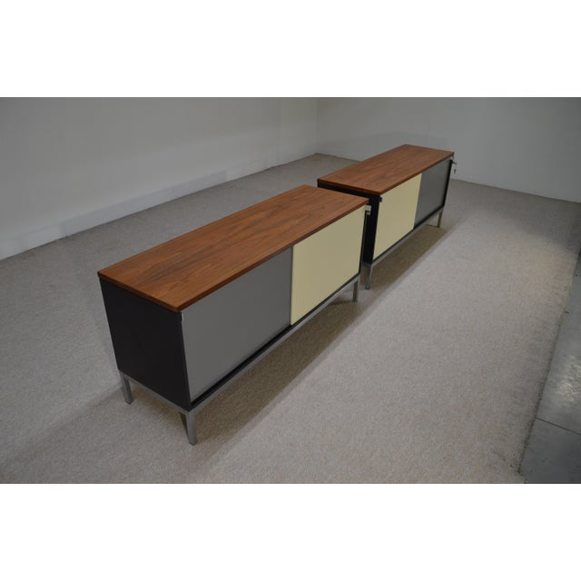 Art Metal for Knoll Int. Mid-Century Office Cabinets - A Pair - Image 3 of 10