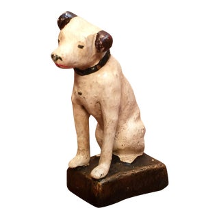 RCA Victor Cast Iron Dog Figurine