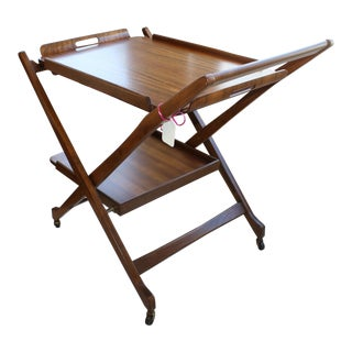 1960s Vintage Serving Tray Table