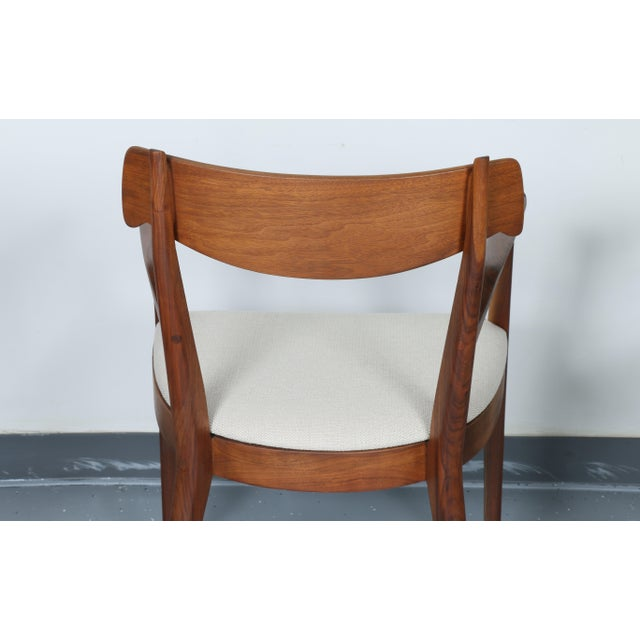 Kipp Stewart for Drexel set of 8 Dining Chairs - Image 8 of 11