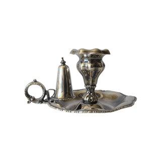 Victorian Hand-Held Candleholder & Snuffer