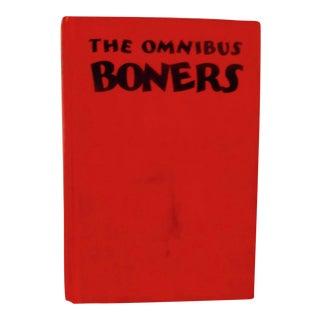 """1931 Dr. Seuss """"The Omnibus Boners"""" Illustrated Book"""