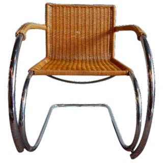 Mies Van Der Rohe Cantilever Arm Chair