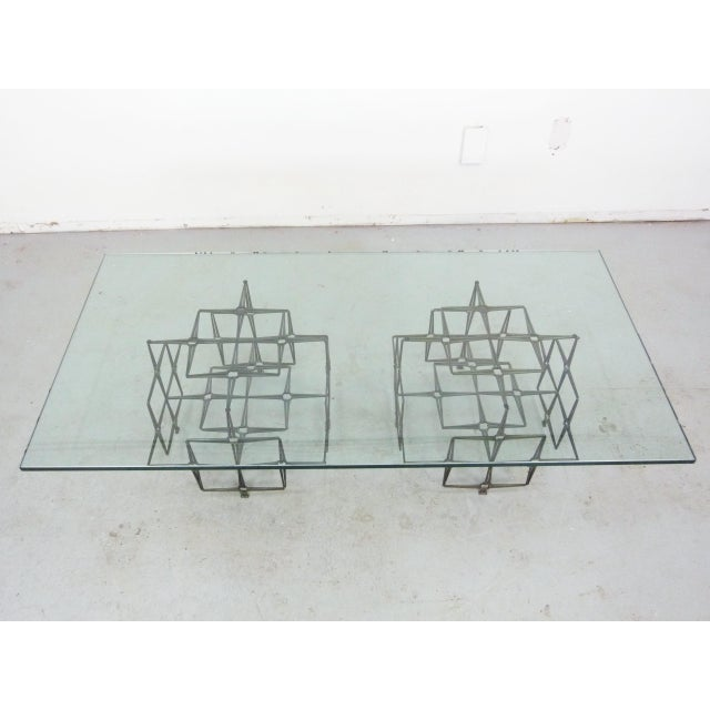 Studio Crafted Nail Base Brutalist Coffee Table - Image 7 of 7