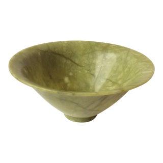Green Serpentine Stone Bowl