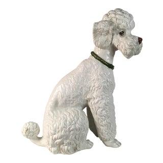 1960s Large Italian Poodle Figurine