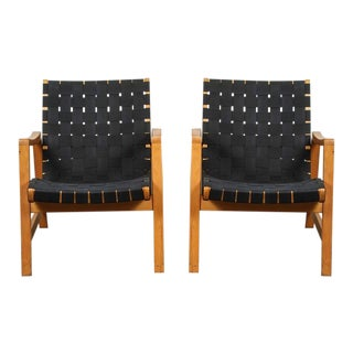 "Pair of ""Vostra"" Armchairs by Jens Risom for Knoll"