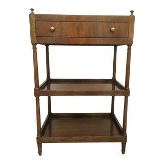 Vintage Baker Furniture 3 Tiered Table