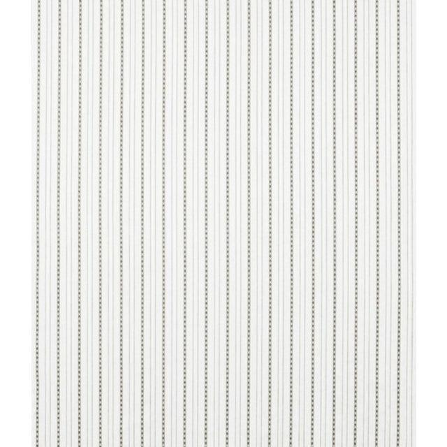 Image of Ralph Lauren Heyward Mourning Stripe Fabric - 1 Yard