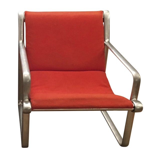 Vintage Hannah Morrison 70s Lounge Chair For Knoll Chairish