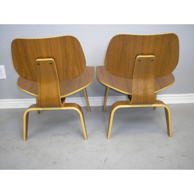 Charles and Ray Eames LCW Chairs - A Pair - Image 4 of 7