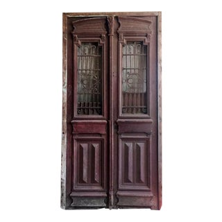 Antique Egyptian Double Doors