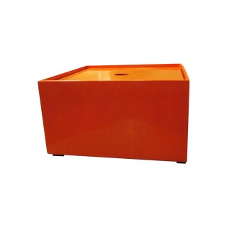 Square Tangerine Storage Box