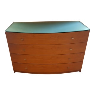 Modern Contemporary Italian 4 Drawer Dresser
