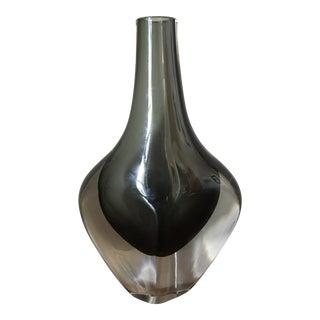 Nils Landberg Orrefors Sommerso Glass Vase
