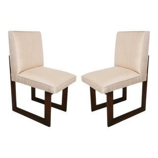 "Pair of Vladimir Kagan ""Nobu"" or ""Cubist"" Chairs"