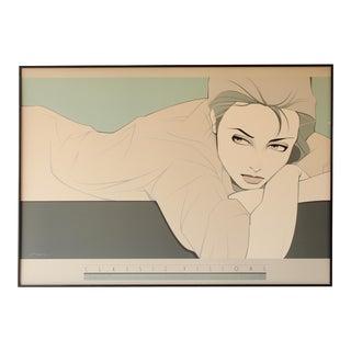 'Gray Lady' Print by Patrick Nagel