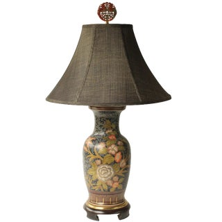 Frederick Cooper Floral Vase Table Lamp