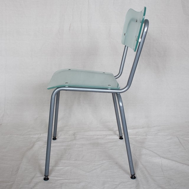 Tim Power for Zeritalia Glass Chip Chairs - A Pair - Image 5 of 10