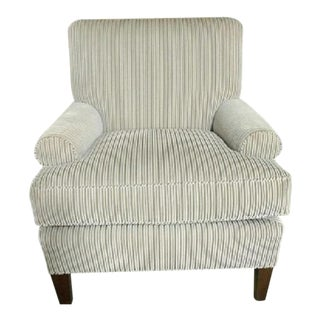 O. Henry House Striped Upholstered Club Chair