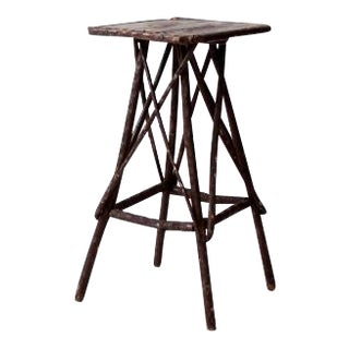 Antique Twig Accent Table