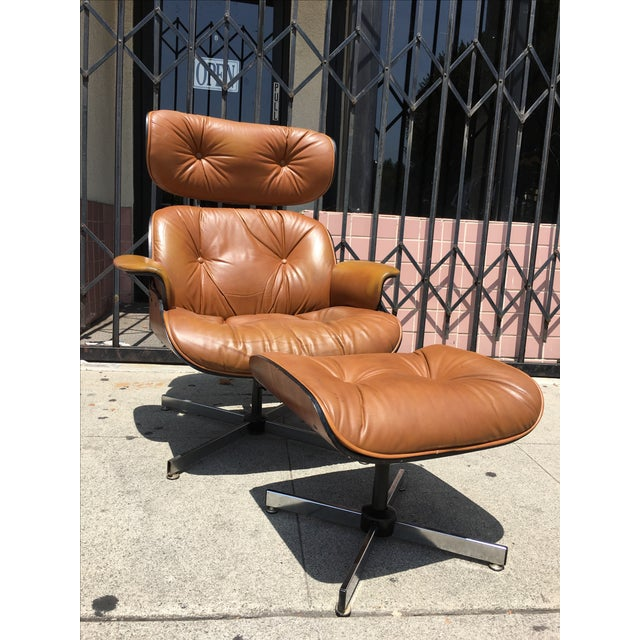 Mid-Century Lounge Chair & Ottoman by Plycraft - Image 3 of 4