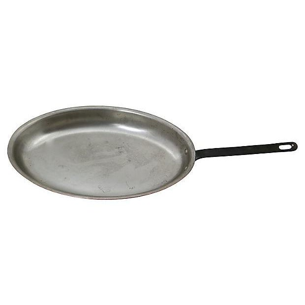 Oblong English Copper Saute Pan - Image 2 of 3